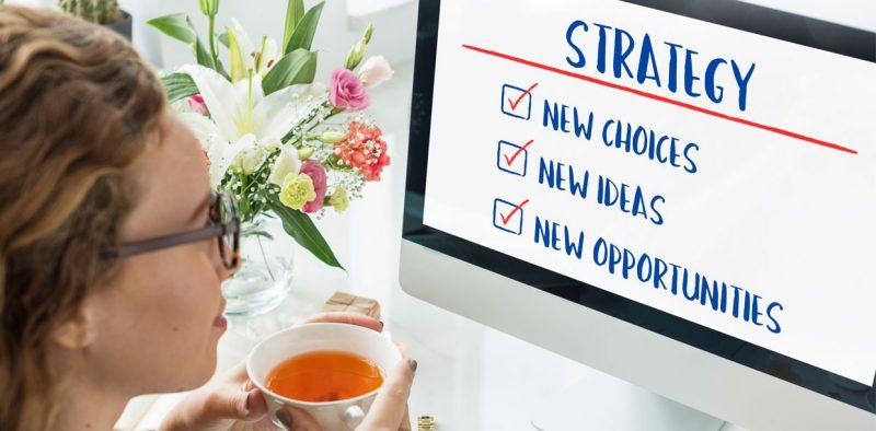 Strategy woman